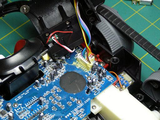 Picture of Installing the Jumper Pins on the Trakr's Circuit Board