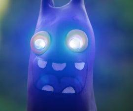 Cartoon figure LED lamp