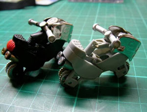 Picture of  Motorcycle Toy Model With 2 Units of Gas Lighters
