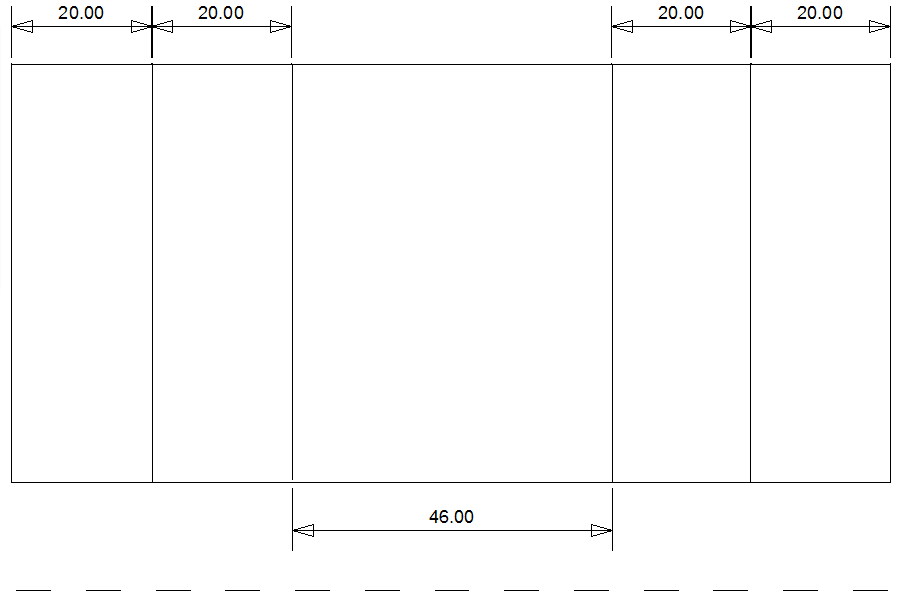 Picture of CAD Plan for Designing Cardboard Spacers