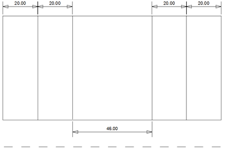 CAD Plan for Designing Cardboard Spacers