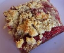 Lemon Raspberry Crumble (grain-free)