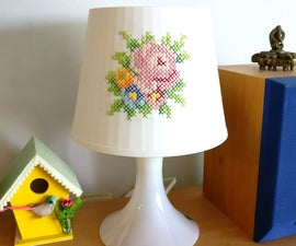 Embroidered Lampen