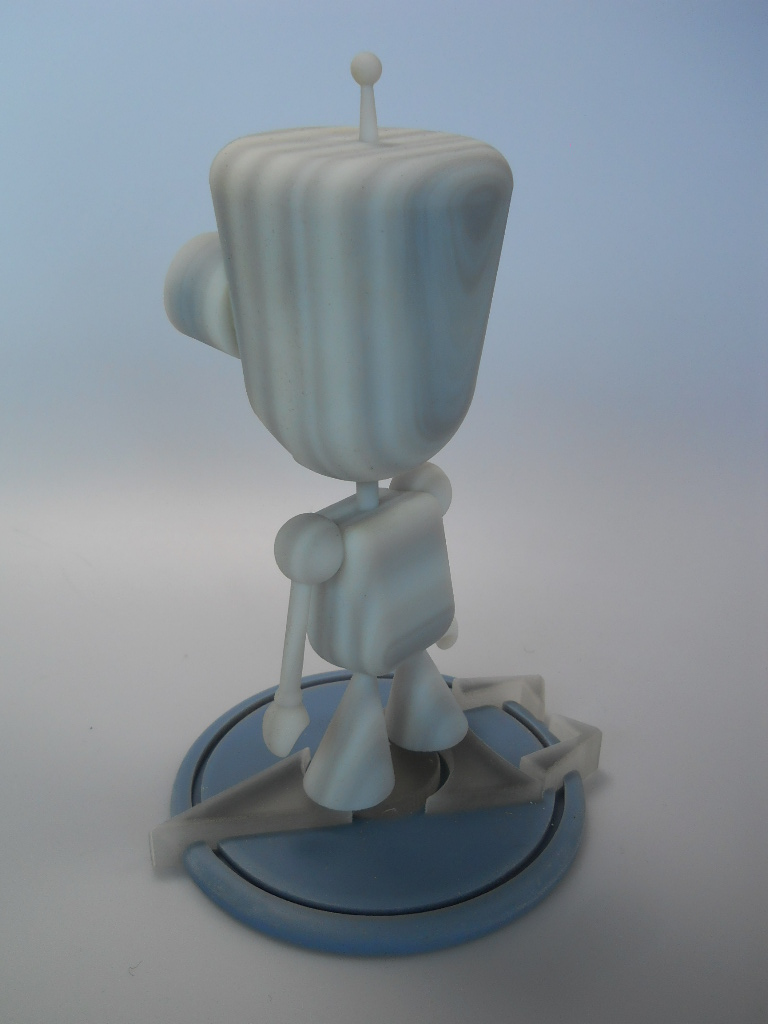 """Picture of Make Gir (from """"Invader Zim"""") Using 123D Design"""