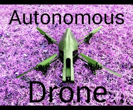 Autonomous AR Parrot Drone 2.0 Flying