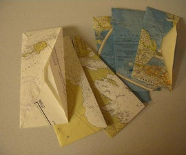 How to make envelopes from maps
