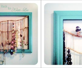 Necklaces in a Frame!