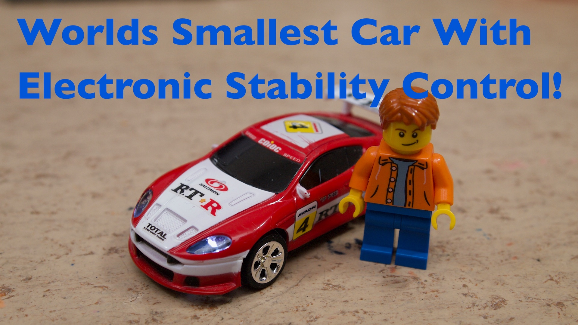 Picture of Worlds Smallest Car With Electronic Stability Control!