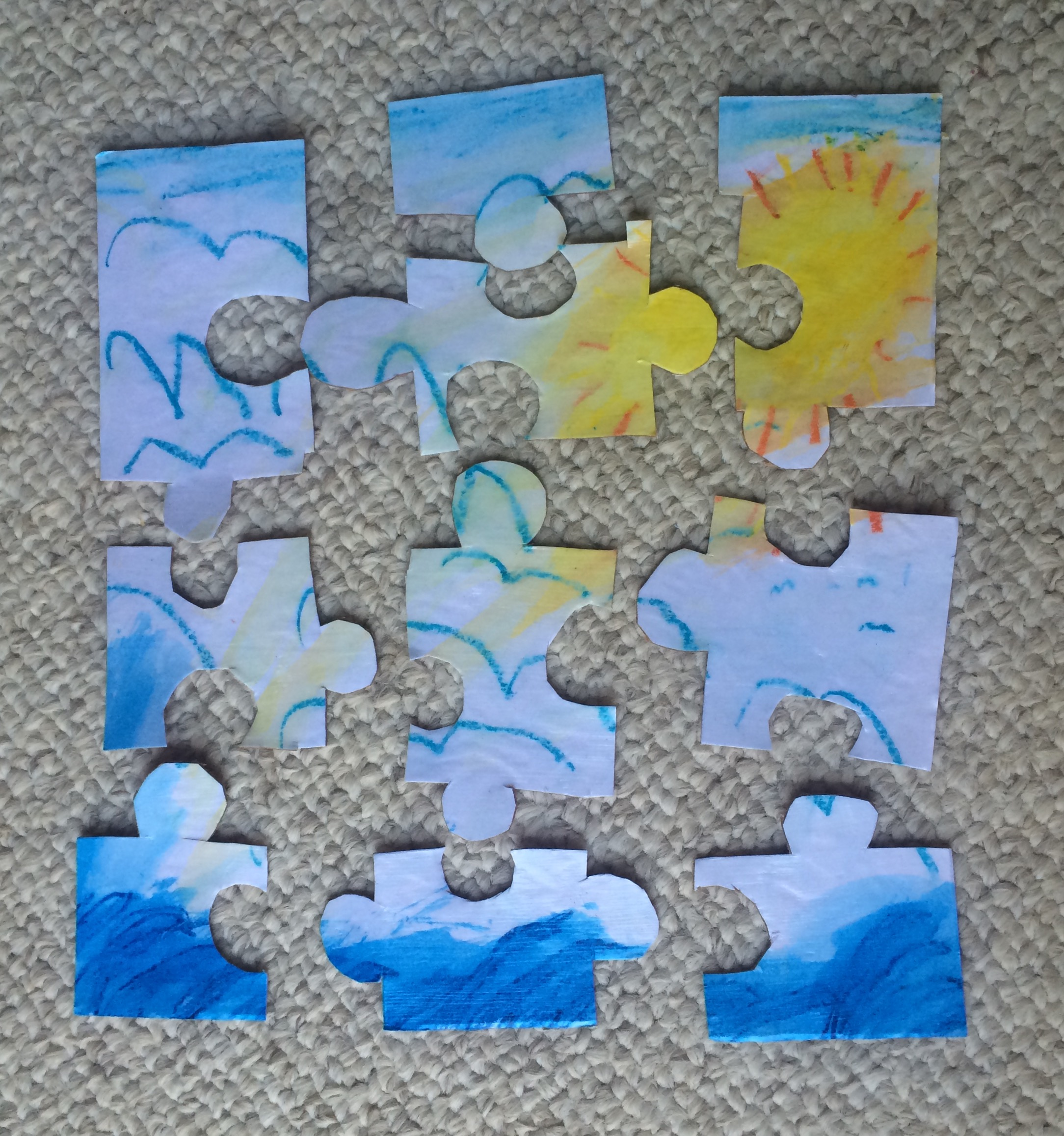 Picture of Cut Your Puzzle and Enjoy