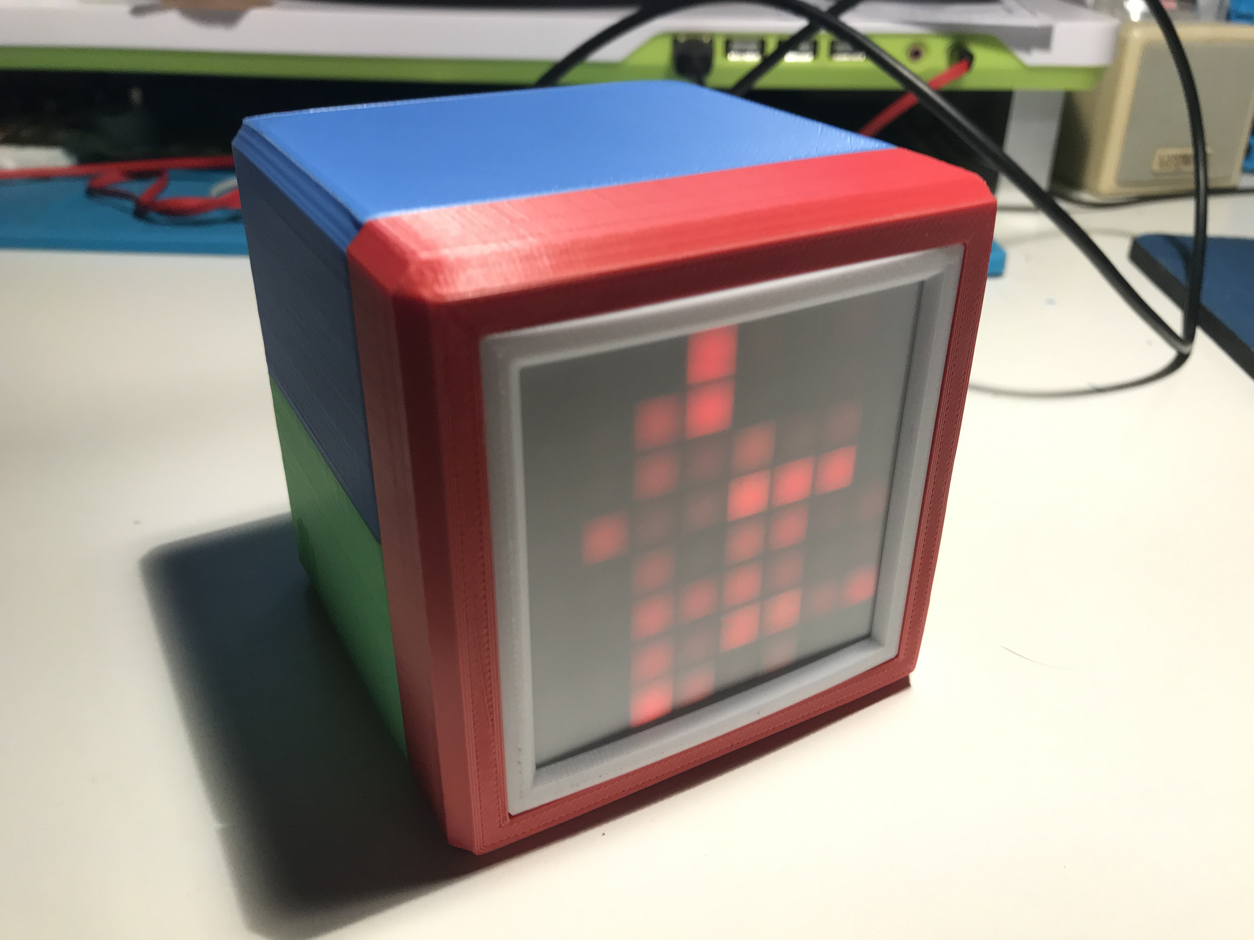 Picture of RGB Box Clock