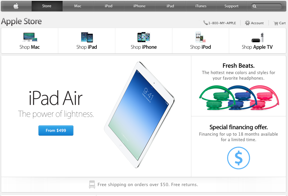 Picture of Buy From the Online Apple Store Without a Credit Card