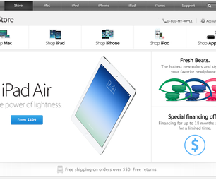 Buy From the Online Apple Store Without a Credit Card