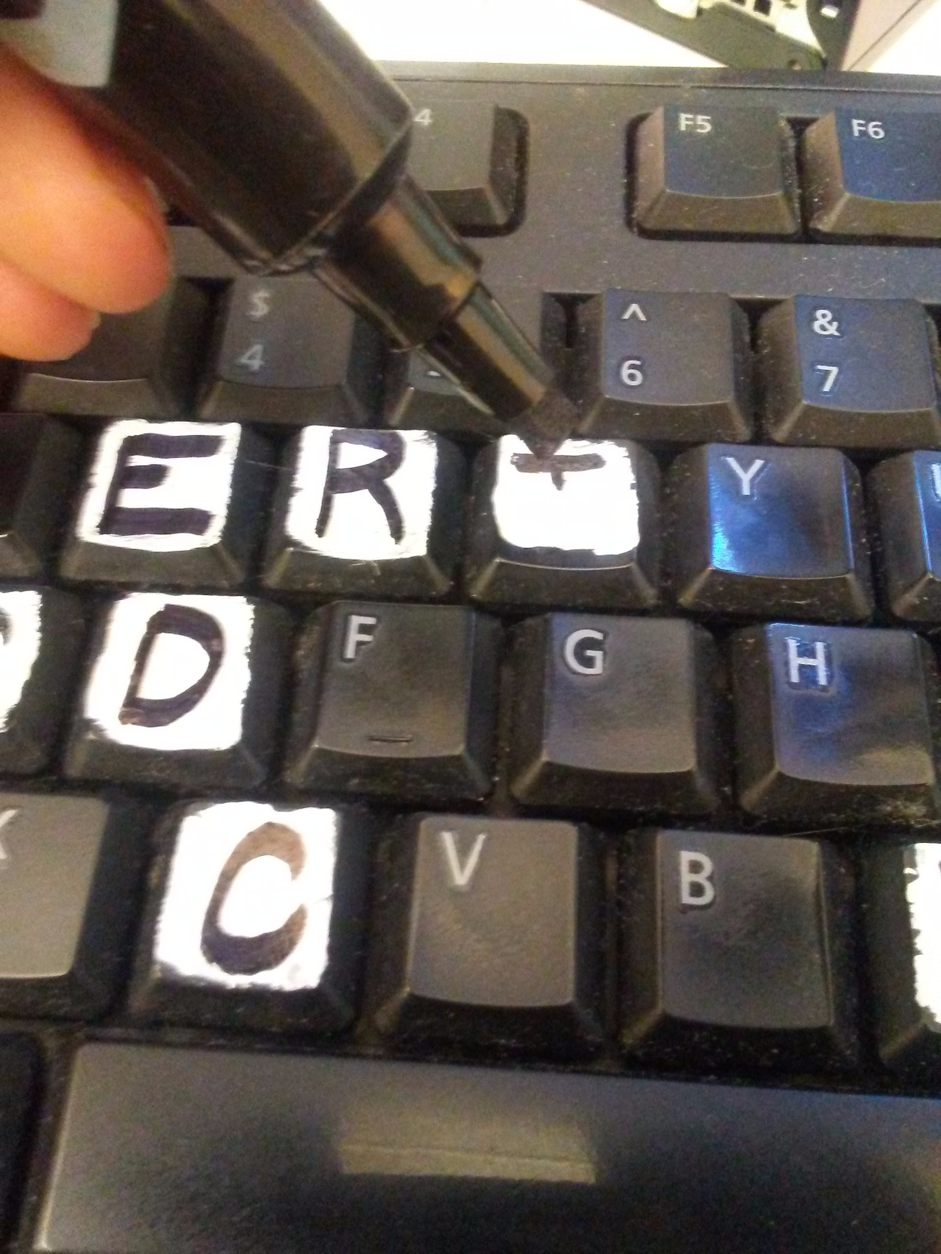 Picture of Write Letter on Key