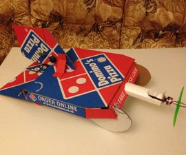 Domino's Pizza Box Airplane $35