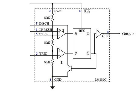 IC555 ASTABLE MULTIVIBRATOR WITH WORKING EXPLANATION OF