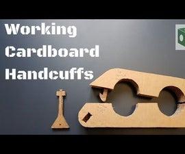 DIY Working Cardboard Handcuffs