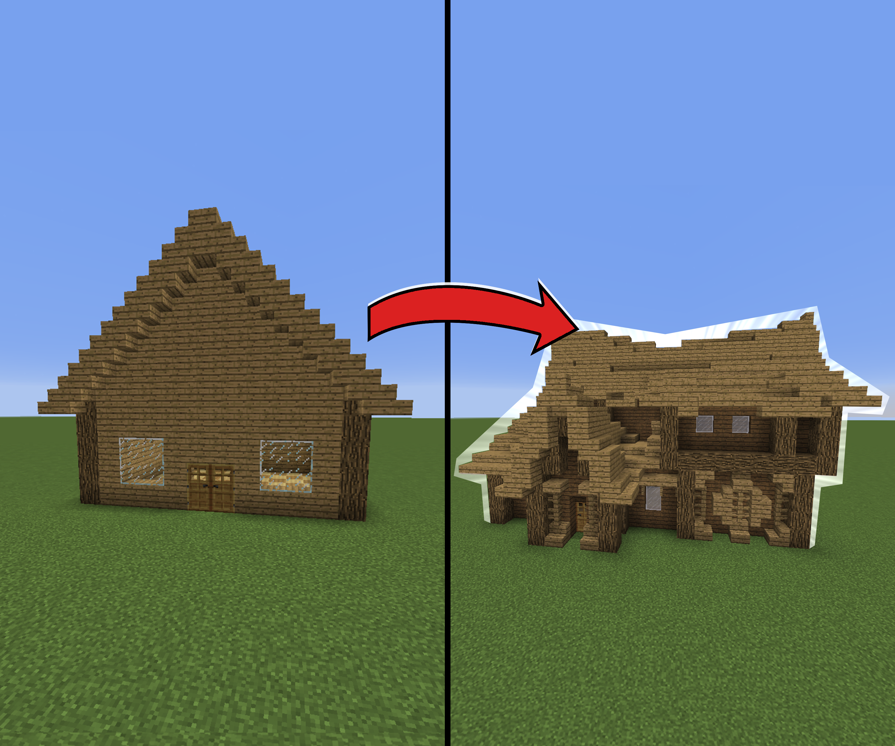 How To Make Amazing Looking Houses In Minecraft 6 Steps