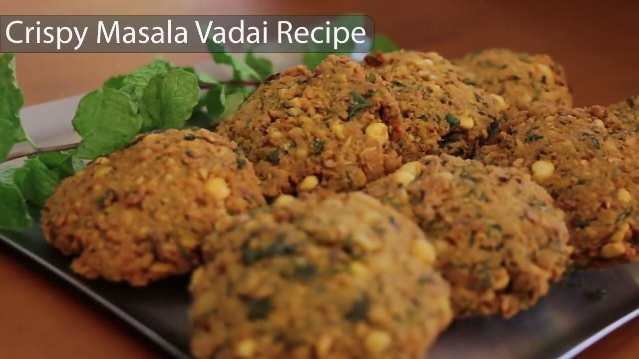 Picture of Crispy Masala Vadai Recipe - Who's Hungry