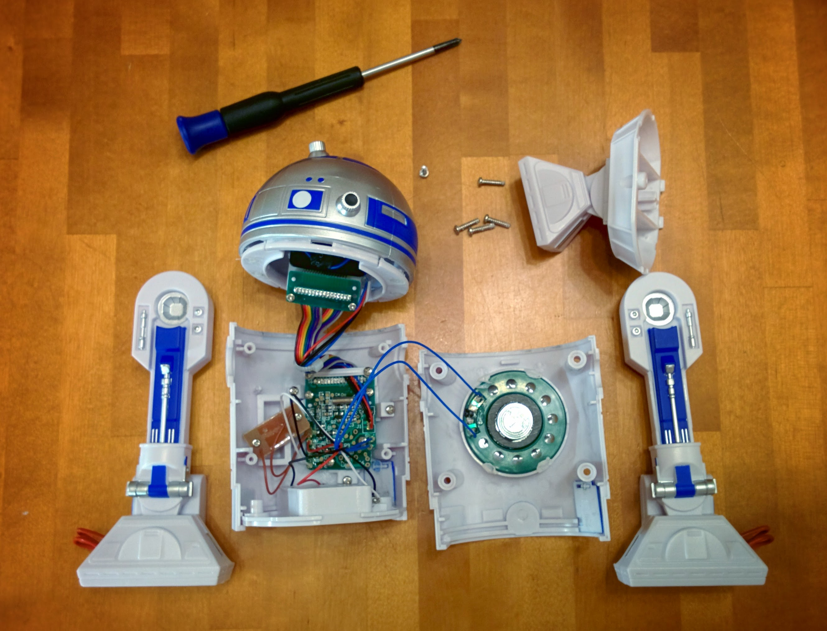 Picture of Dismantle the Toy and Locate the Speaker