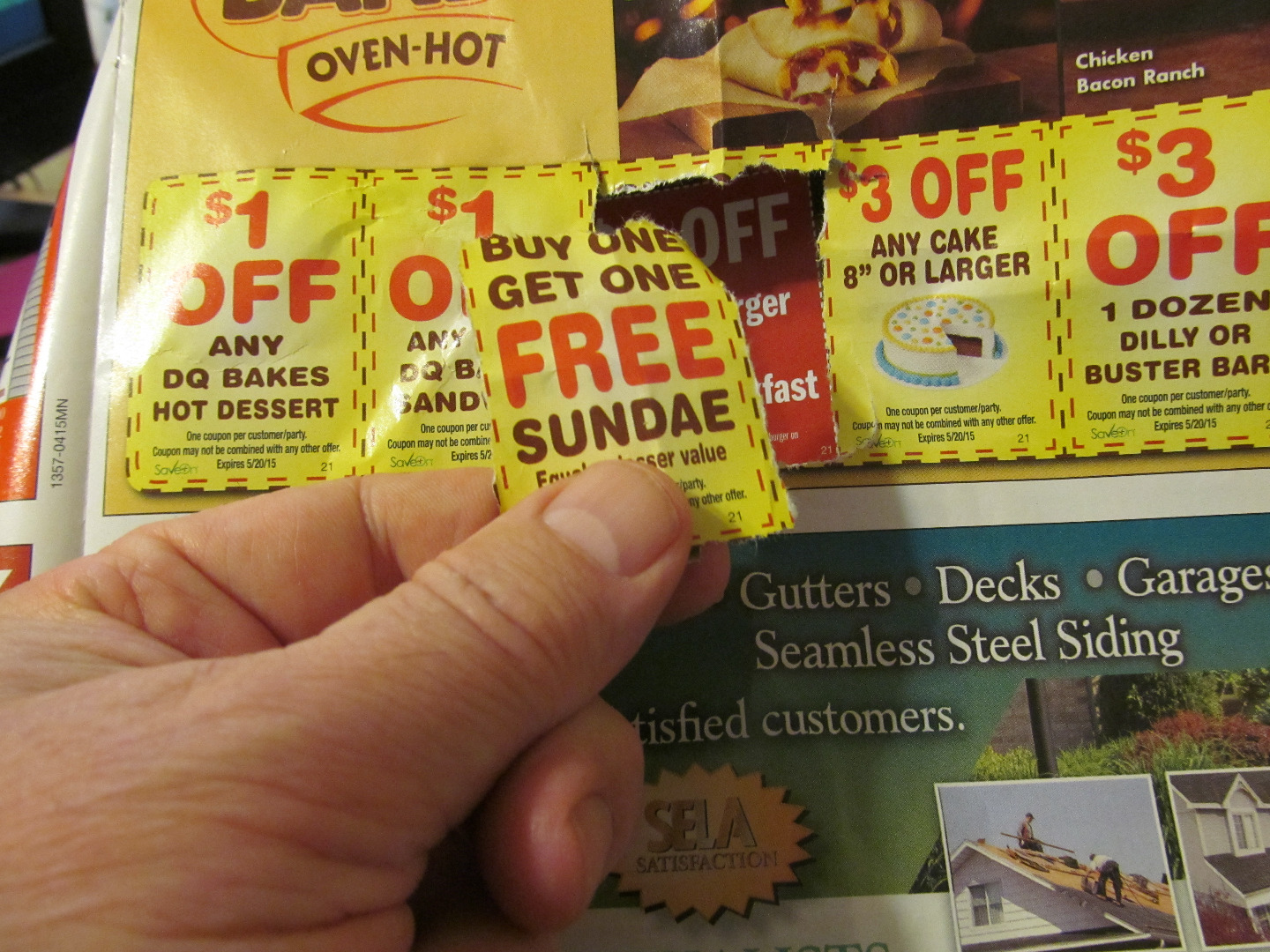 Picture of Clip Coupons Without Tools!
