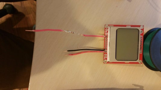 Wiring Up the LCD