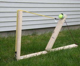 Quick and Easy Wooden Catapult