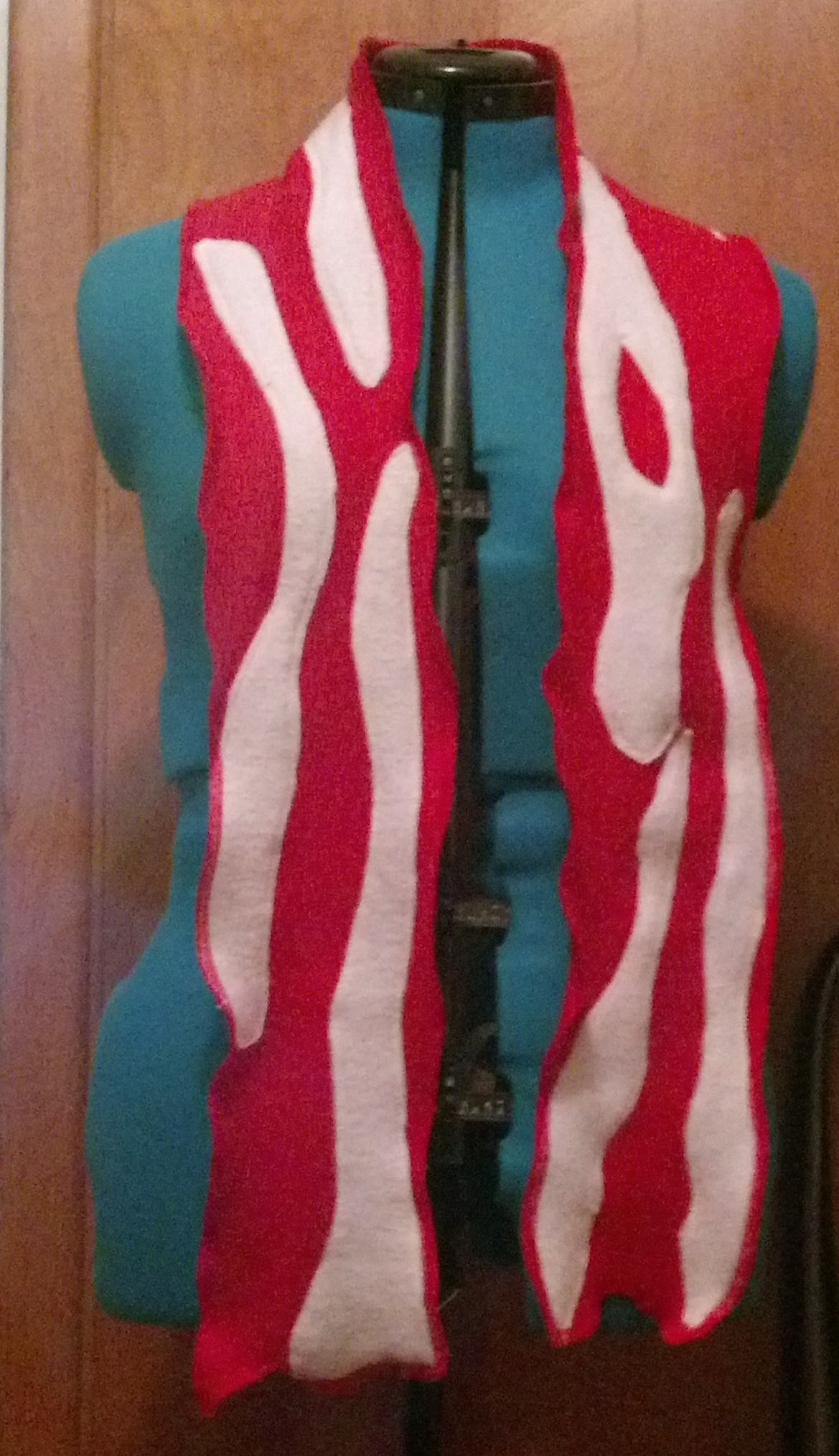 Picture of Bacon Scarf: Step by Step