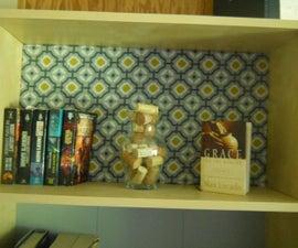 Ikea Bookshelf Upgrade