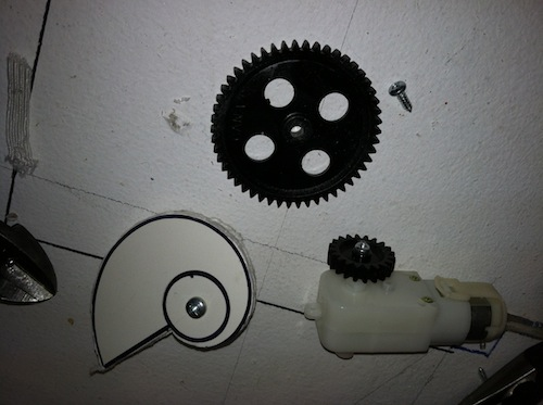 Picture of Motor, Gears and Cam