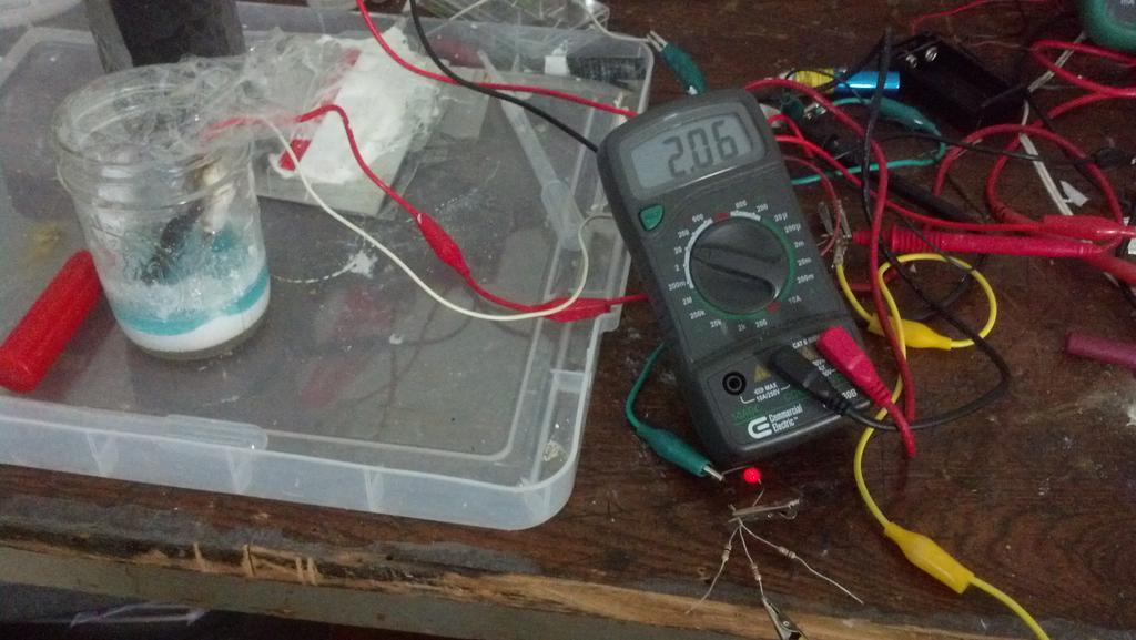 Picture of Create a Rechargable 2 Volt Aluminum/Titanium Ion Battery