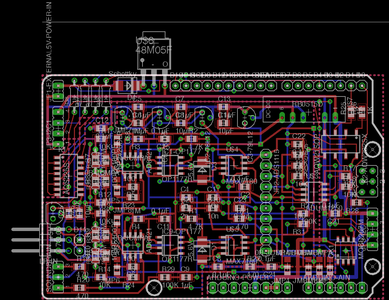 Circuit Diagram and PCB Files : 16 Bit Brain Wave Interface for Arduino/Raspberry Pi