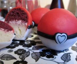 Pokelove -- colour co-ordinated two-layer mini cakes!