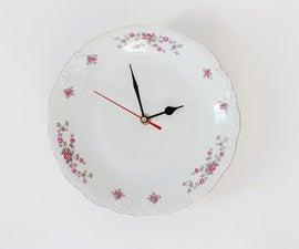 Vintage Plate Clock