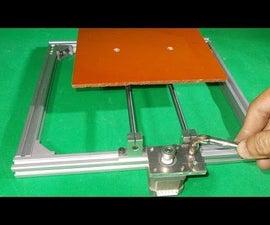 Homemade Engraving Plotter Laser Frame DIY Y Axis Slide Linear