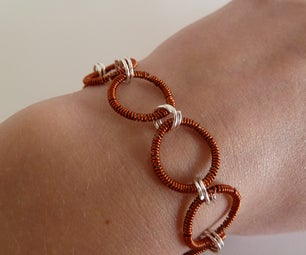 Coiled Circle Bracelet