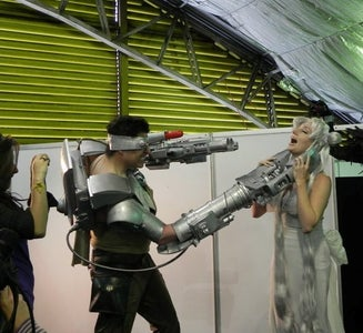 UPGRADE 2: WEAPONS SYSTEM (And Halloween Fun!!)