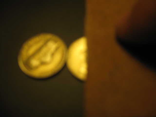 Picture of Attaching the Two Coins