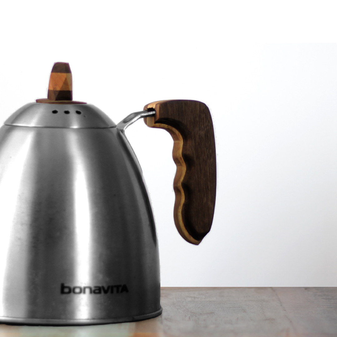 Picture of Woodworking Up-Cycle of a Tea Kettle