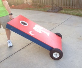 How to make Rolling Cornhole Boards