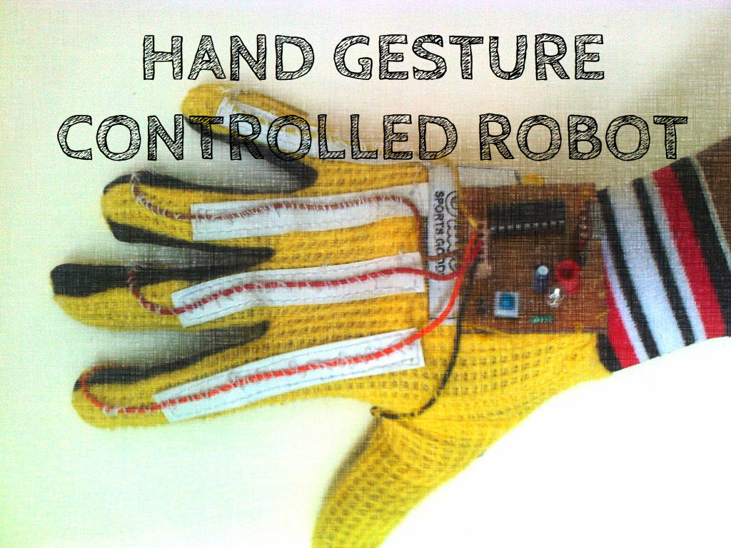 Picture of Hand Gesture Controlled Robot With Sound Activated Light System