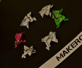 Electronic Paper Creatures - EOrigami