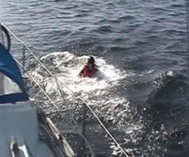 Rescuing Someone Fallen Overboard From a Boat