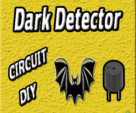 Dark Detector Circuit | LDR | 555 Timer | Dark Sensor | Electronics Projects | Simple DIY