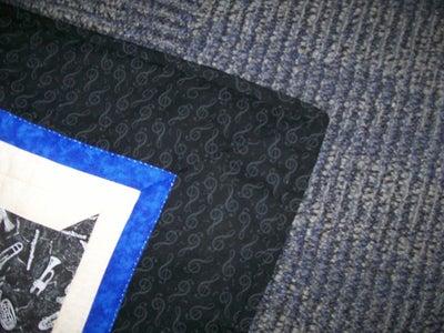 Musical Cat Quilt