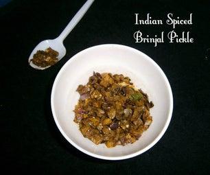 Indian Spiced Brinjal Pickle