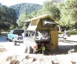 The Ultimate Kayak Hauler and Rooftop Tent Camper.