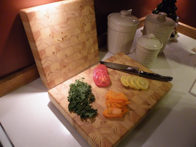 Picture of 2x4 End Grain Cutting Board / Butcher Block