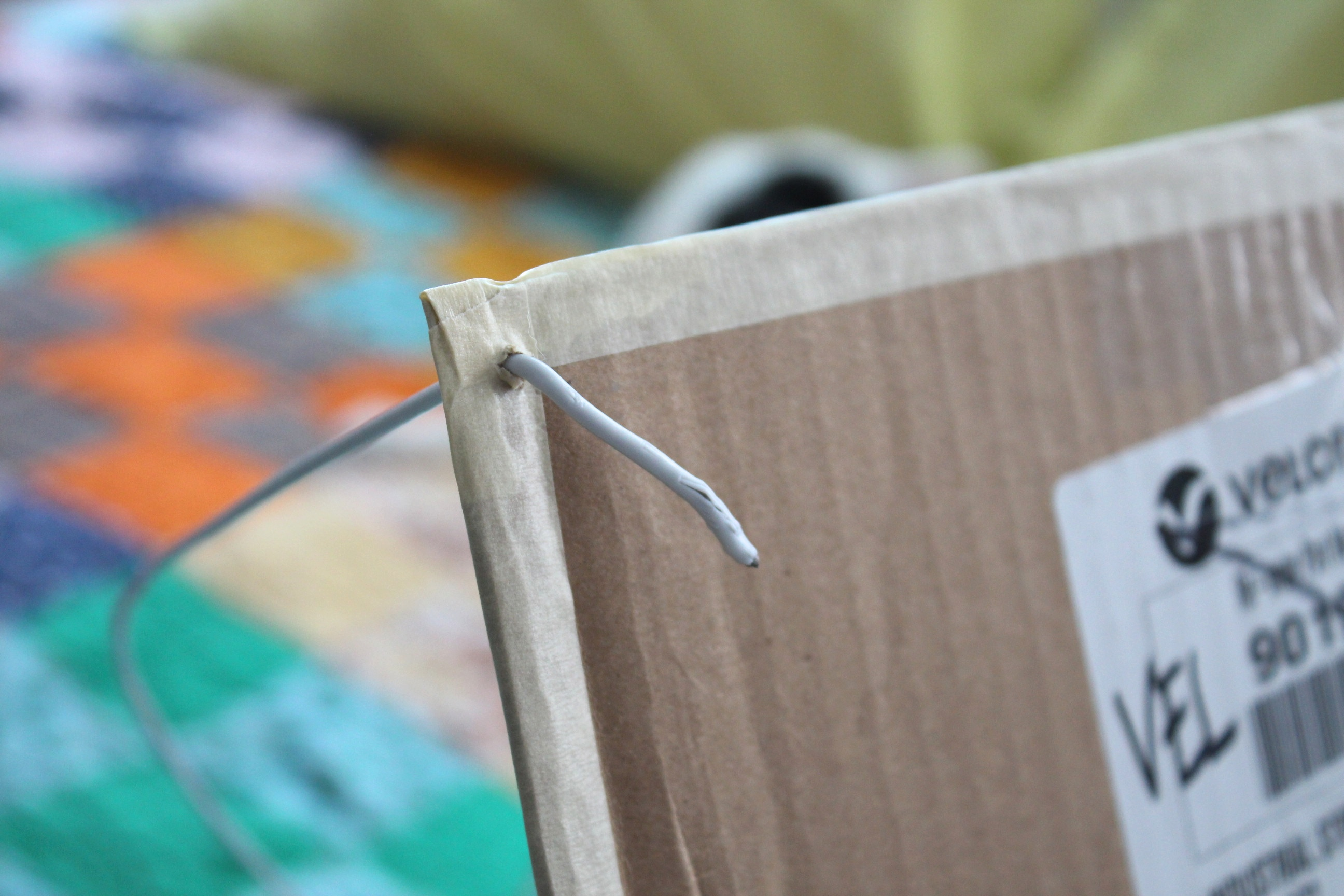 Picture of Bend the Ends and Tape Them Down