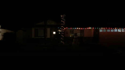 Musically Synchronized Christmas Lights