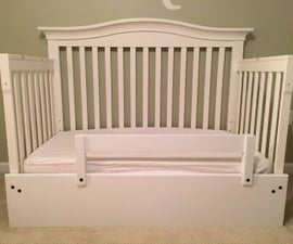 Crib Into a Toddler Bed Hack